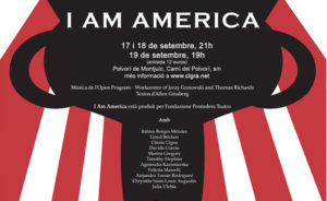 Presentació d'I Am America del Workcenter of Jerzy Grotowski and Thomas Richards a Barcelona
